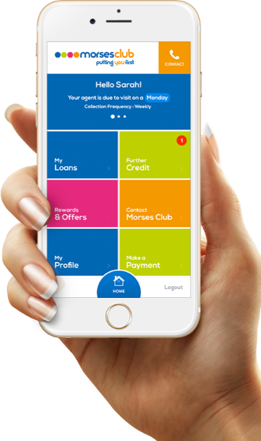 Morses Club Customer App is now available to help you keep track of your loans