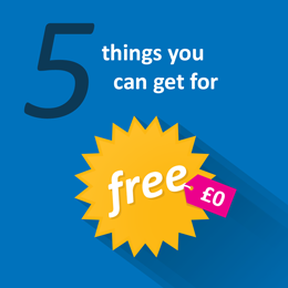 5 Things you can get for free