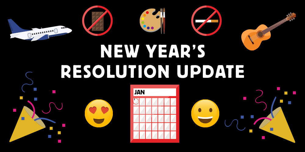 New Year's Resolution Update