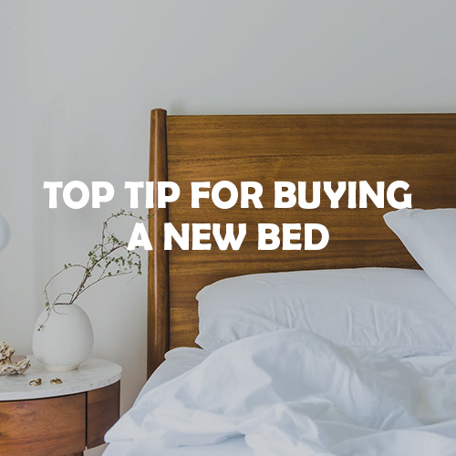 Top tips for buying a new bed